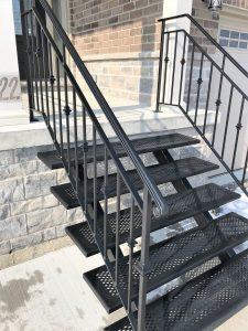 Custom Iron Stairs